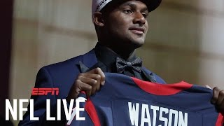 How Long Before Deshaun Watson Gets The Ball In Houston?   NFL Live   ESPN