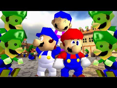 SM64 bloopers Luigi Labyrinth
