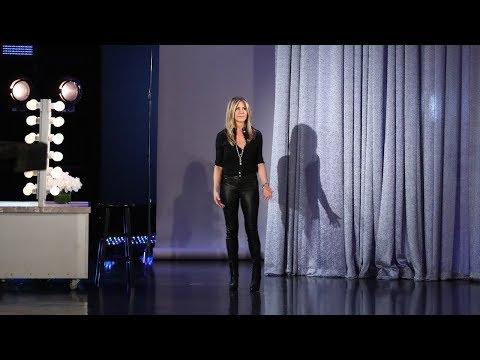 Xxx Mp4 Jennifer Aniston Drops By To Wish Ellen A Happy Birthday In Person 3gp Sex