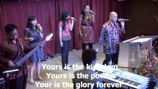 Yesus Kau Besar, worship led by Efraim Tamba