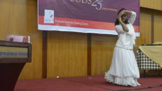 Dance Performance on Jao Pakhi Bolo by Foujia @ SUDS Silver Jubilee 2017