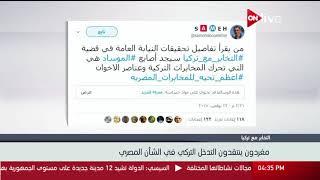 مغردون ينتقدون التدخل التركي في الشأن المصري