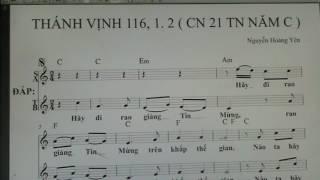 1331. THANH VINH 116 ( CN 21 TN NAM C ) NHY