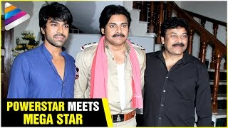 Pawan Kalyan Meets Chiranjeevi & Ram Charan | Bruce Lee The Fighter Movie | #BossIsBack