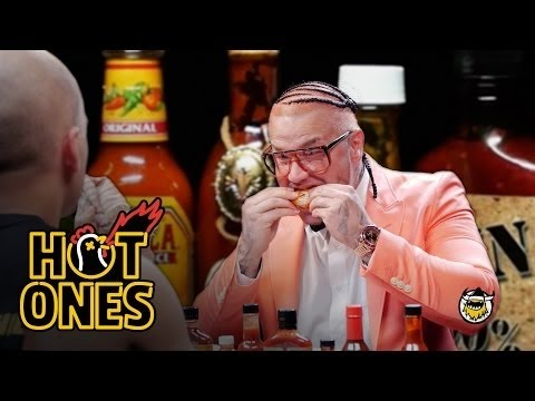 Xxx Mp4 Riff Raff Goes Full Burly Boy On Some Spicy Wings Hot Ones 3gp Sex