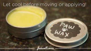 DIY Protective Paw Balm