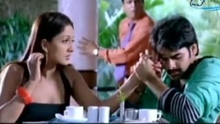 Sheela & Ram romancing in a cafe | Maska | Telugu Movie scene