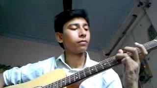 Agar Tum Mil Jao Jamana chor denge hum in guitar by Subhajit