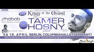 Tamer Hosny European tour 2015