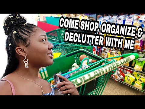 Dollar Tree With Me 1.00 STORAGE IDEAS for Hair & Makeup