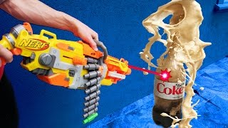 MOST DANGEROUS NERF MOD! (COKE AND MENTOS)