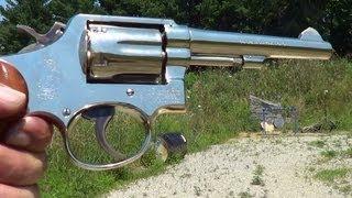Smith & Wesson Model 10-5 38 Special M&P Revolver