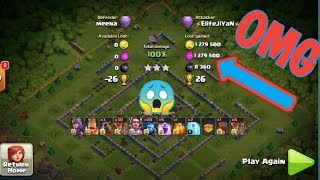 MAX LOOT ON A FULLY MAXED BASE 2.4 MILLION!!! | CLASH OF CLANS