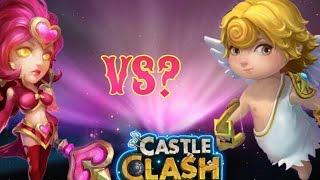 Castle Clash Valentina Vs. Cupid?! Who's Better?