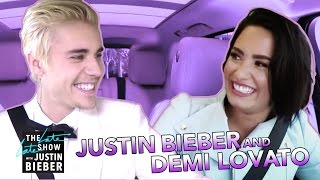 Demi Lovato & Justin Bieber Carpool Karaoke