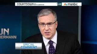 Keith Olbermann Special Comment On Gabrielle Giffords Shooting