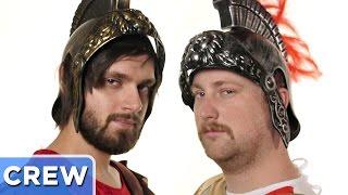 The Gladiator Sweat Challenge - Good Mythical Crew Ep. 16