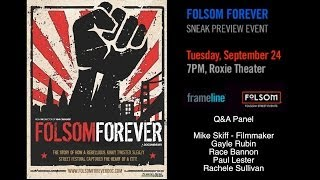 FOLSOM FOREVER - Frameline Q&A for Encore excerpt preview