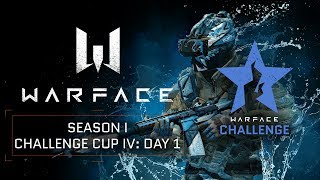 Warface Open Cup Europe: Season I. Challenge Cup IV