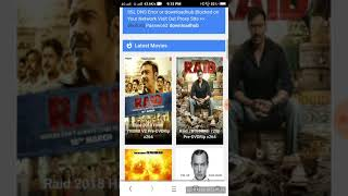 how to download latest release movie raid in Android  Full HD