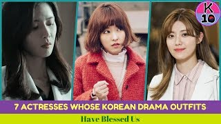 7 Actresses Whose Korean Drama Outfits Have Blessed Us