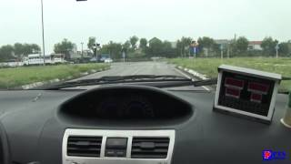 Hướng dẫn Lái Xe sát hạch bằng lái B2 - Xe cảm ứng