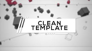 FREE CLEAN AMAZING BLENDER INTRO TEMPLATE 60FPS