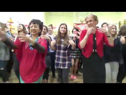 Flashmob Gemu Fa Mire by Students of Tomorkeny  Gimnazium Szeged