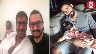 Aamir - Ajay Cross Promote Their Film | Shahid Shares A Sweet Picture With Misha