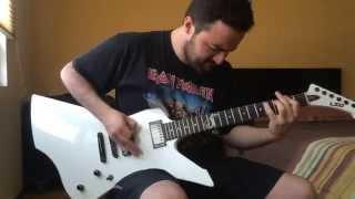 Trapped Under Ice (Metallica Cover) - LTD Snakebyte & Mesa Boogie Mark V