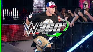 Experience the return of John Cena to WWE on Raw in 360°!