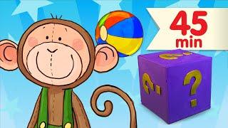 Mystery Box #3 | Original Nursery Rhymes + More | Super Simple Songs