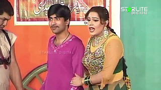 Best Of Iftikhar Thakur, Megha and Sajan Abbas New Pakistani Stage Drama Full Comedy Funny Clip