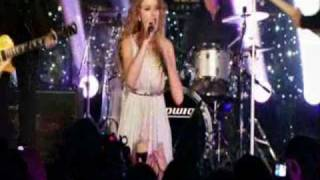 Taylor Swift - Speak Now NBC Thanksgiving special part 1.