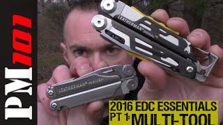 2016 EDC Essentials PT 1: The Multi-Tool (Wave vs. Signal)- Preparedmind101