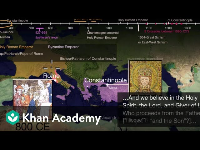 Great Schism or East-West Schism part 2 | World History | Khan Academy