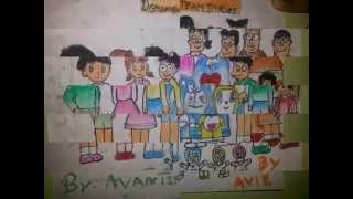 Doreman team drawing