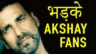 Akshay Kumar को Filmfare Awards 2017 Nomination ना मिलने पर भड़के Fans ने ऐसे दिखाया गुस्सा