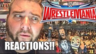 WWE WRESTLEMANIA 32 REACTIONS! GRIMS Full Show Results and Review 4/3/2016