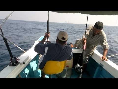 Rifky Shaffie Deep Sea trolling caught 8 Sear Fish Sri Lanka
