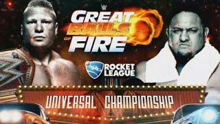 WWE-Brock Lesnar vs Samoa Joe - Great Balls Of Fire 2017 Highlights