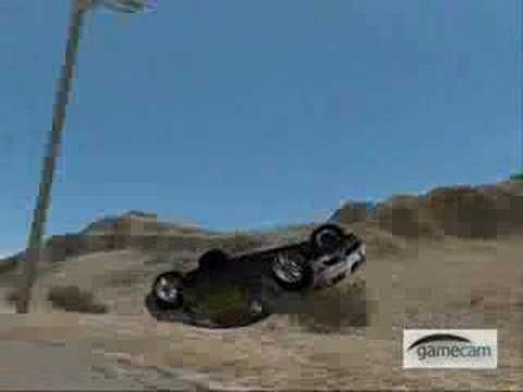Need For Speed Pro Street Crash Compilation