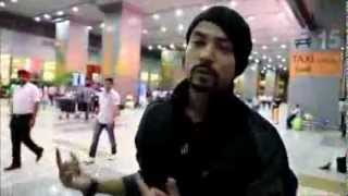 BOHEMIA - at delhi airport | RAINMAN IS BACK