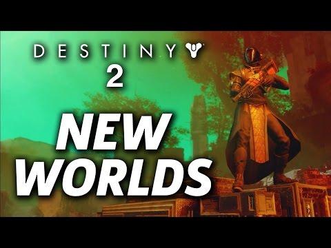 Destiny 2 New Worlds Revealed