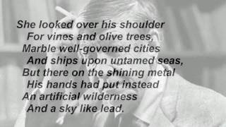 """""""The Shield Of Achilles"""" By W H Auden (read By Tom O'Bedlam)"""