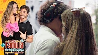 ¡Yolo le roba un beso a Aris! | Mi marido tiene más familia - Televisa