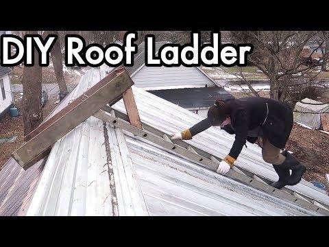 Xxx Mp4 DIY Homemade Roof Ladder From Scrap Parts 3gp Sex