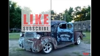 CHECK OUT THIS RARE 1947 DODGE PICKUP! A TRUE RAT ROD! POWER TOUR 2009!