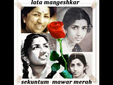 lata mangeshkar-sekuntum mawar merah [one red rose].wmv mp3
