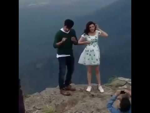 Actress Kajal Agarwal Leaked Video  Shooting Location